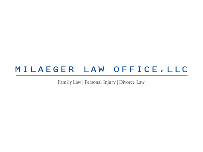 Milaeger Law Office, LLC advocacy law office logos lawyer logos legal welogodesigner