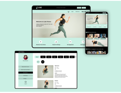Lubz Fitness- Website