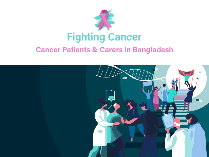 Fighting Cancer ui branding cancer illustration design