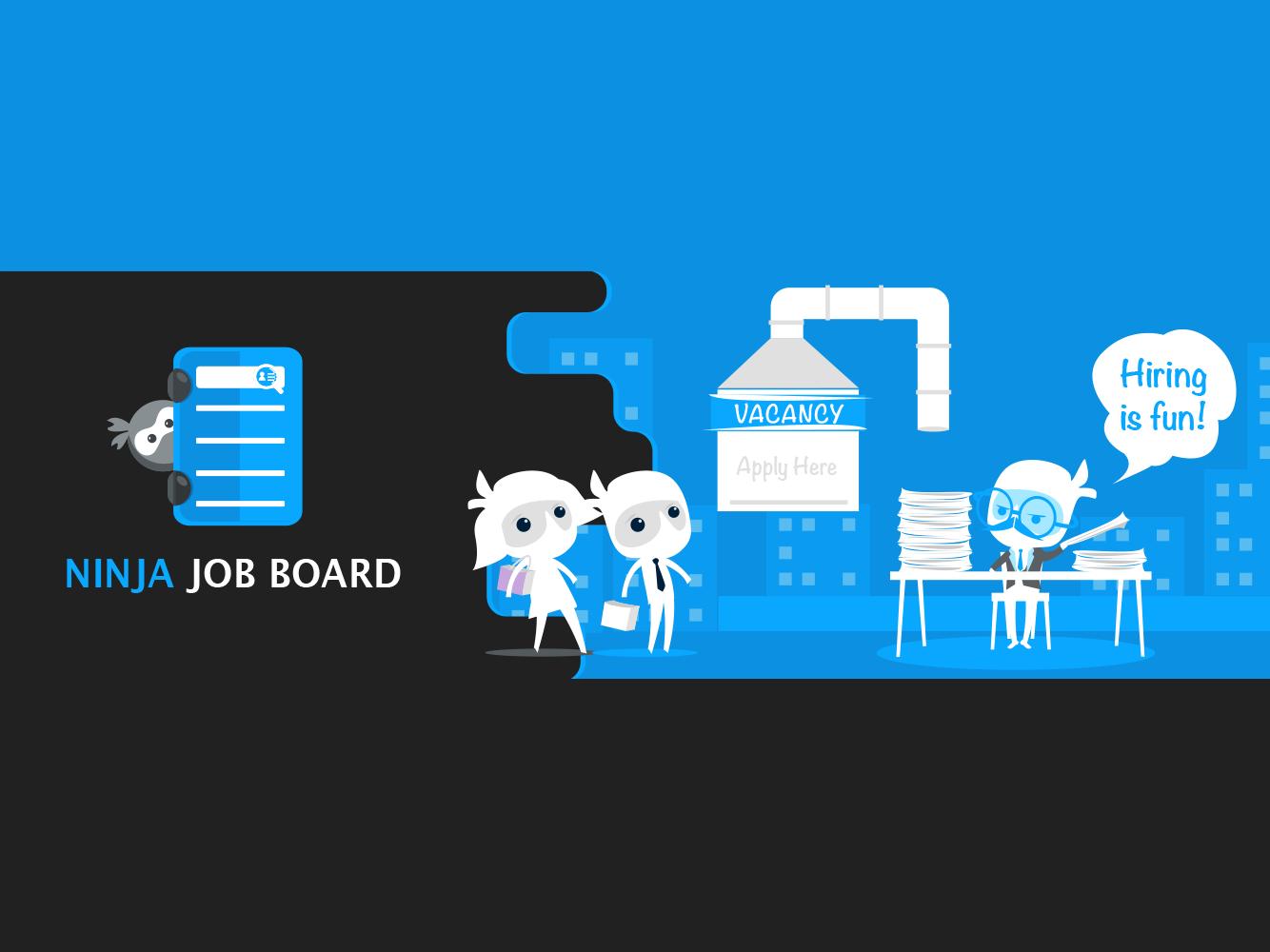 Ninja Job Board Branding interview job ninja wpmanageninja.com