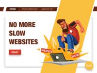 Website Hero Section