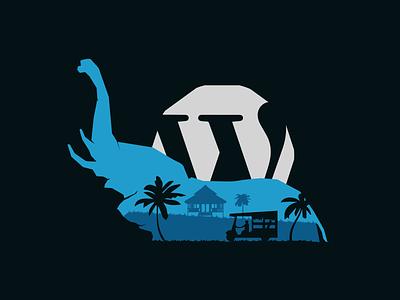 Wordccamp concept art elephants wordpress elephant thailand wordcamp