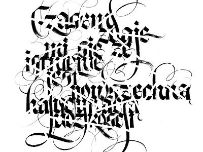 Calligraphic performance in Toruń (Poland) flourish graffiti art graffiti gothic calligraphy gothic lettering design exhibition calligraphy calligraphic performance