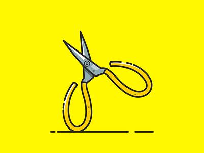 Cutter design ilustrasi vektor logo icon desain
