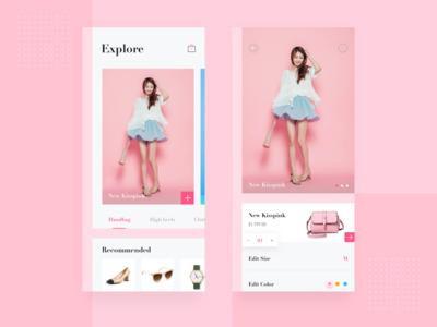 Shopping APP for Female