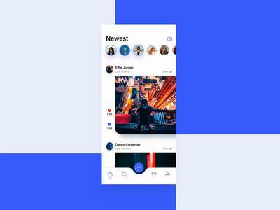 Social App animation