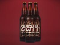 254  Pecan Porter Bottles