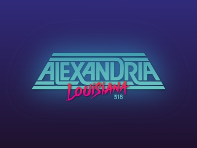 Alexandria, LA eighties 80s retro 318 louisiana custom type alexandria elec