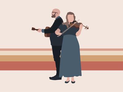 OH! Jeremiah Band Illustration