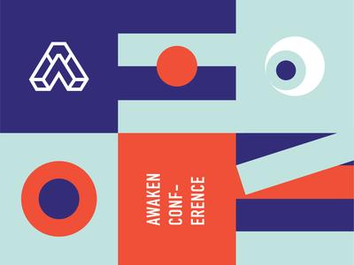 SEEN x Awaken Conference Branding