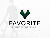 Logo for luxury man boutique vol.2