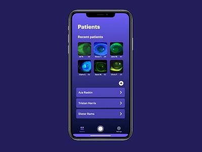 DyeD — Dry Eye Disease app auto animate adobe xd iphone ios prototype animation prototype ux design ux uiux ui design product design ui