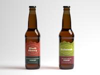 Ridge Cider Holiday Labels
