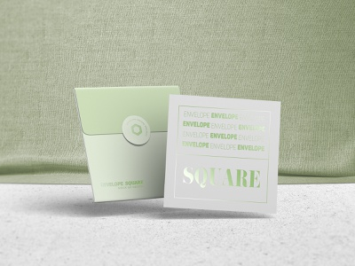 Square Envelope Mock up presentation psd mockup template card square mock up envelope paper smart object mock-up photorealistic mockup psd branding