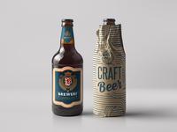 Beer Bottle mock-up