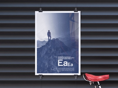 Poster Mock Up 2 advertising photo event poster street photorealistic mockup typography mock-up paper design template smart object branding psd