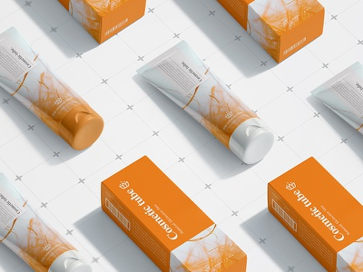 Cosmetic Tube mock up box beauty cosmetic tube mock up jar label photorealistic mockup psd smart object branding