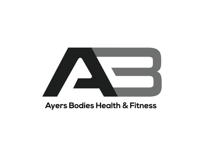 AB Fitness Logo Design creative design fitness vector adobeaftereffects design illustrator logo animation creative illustration adobe