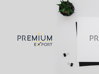 Premium Export Logo Design typography adobeillustator adobeaftereffects design illustrator animation creative logo illustration adobe