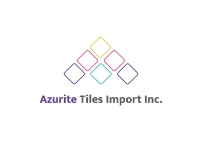 Azurite logo Design design illustrator graphic branding creativity typography logo creative illustration adobe