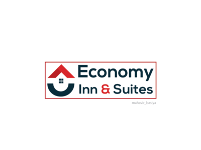 Economy suit inn logo design ui adobe vector adobeillustator adobeaftereffects branding design logo creative illustration