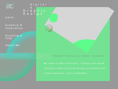 Website Design geometric abstract website design bespoke 2danimation animation css animation digitaldesign webdesign webart lottie json cssanimation css3 coverpage portfolio frontend javascript html css