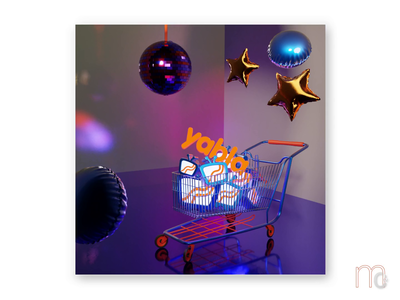 black friday disco blendercycles party blender3dart 3d 3d animation animation ecommerce shopping shoppingcart disco blackfriday balloons blender 3danimation b3d 3ddesign graphic digitaldesign illustration graphicdesign