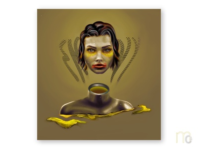 envy typography graphic face character art portrait painting paint concept art afflictive emotion portrait concept digitalart digitaldesign illustration graphicdesign