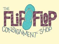 Flip Flop Consignment Shop Logo
