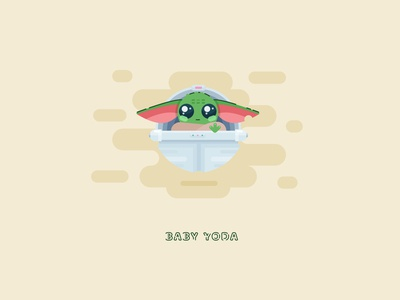 The cutest baby Yoda