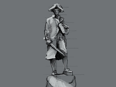 Sketching statue...