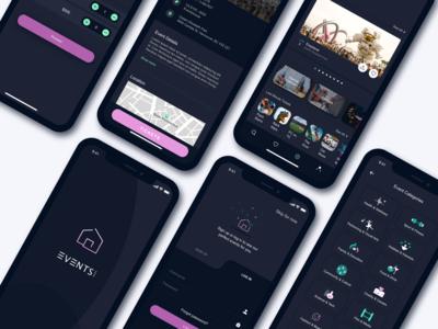 Eventshouse App Design