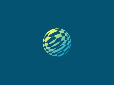 Globe Dribbble logo globe travel