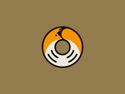 Foxhole curl brown orange polo hoop circle foxhall foxhole fox logo