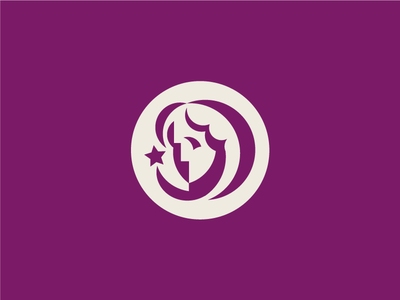 Ayona (unused) star woman branding icon mark logo