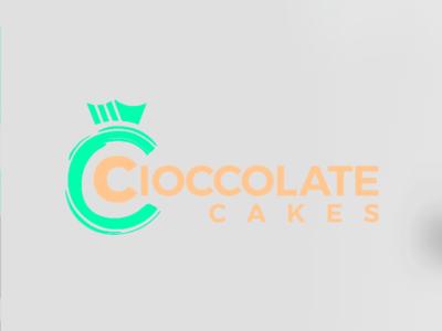 Cioccolate Cakes chocolate cakes cupcakes branding mark logopassion logo