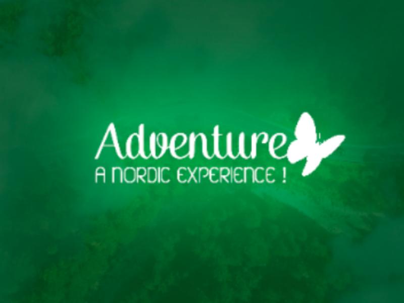 Logo adventure inspire logoinspired logoplace logodaily logotipo green adventure logo branding logotype logo design logo