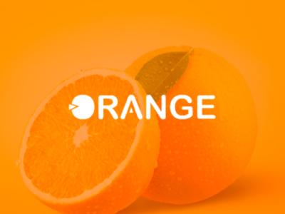 Orange fresh logo concept flat minimalista lettering market mark creative logotype logodaily fruit orange logo