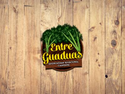 Logo for restaurant Entre Guaduas illustration dribbble brandidentity logodaily logomaker logohero logolove logomark brand logofolio logonew logodesign logoinspire logobrand logoarts logoplace logo