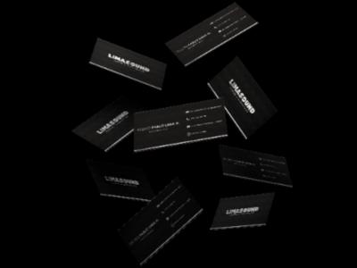 Bussiness cards for Lima Sound bussiness illustration dribbble brandidentity logodaily logomaker logohero logolove logomark brand logofolio logonew logodesign logoinspire logobrand logoarts logoplace logo