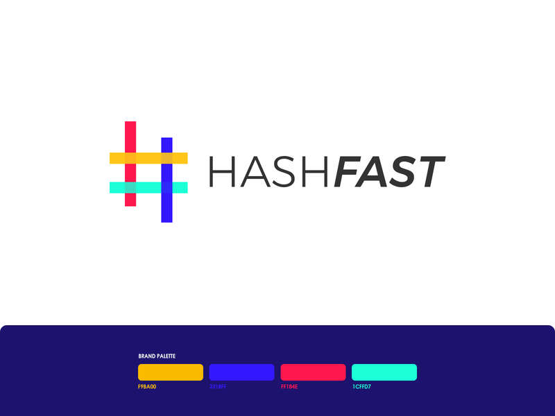 HashFast Logo Design logo design challenge design logo a day branding photoshop logoinspire logoinspirations logo designer illustration logo