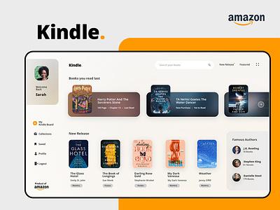 Amazon Kindle Refreshed Look illustration design vector ui mobile app uxdesign uidesign mobile app design branding
