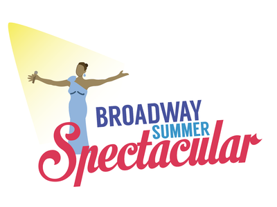 Logo for a musical performance summer illustration broadway theater logo