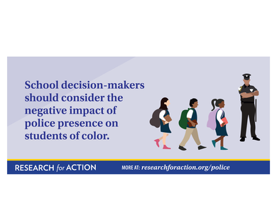 Police in Pennsylvania Schools policeman education research pennsylvania illustration antiracist schools police