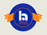 30th Anniversary seal for Health Access California