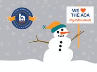 Healthcare Advocate Snowman