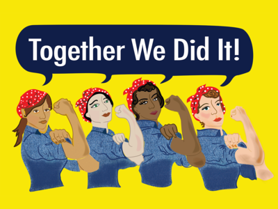 Rosie the Riveter illustration