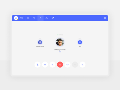 Business connection - #1 Call screen