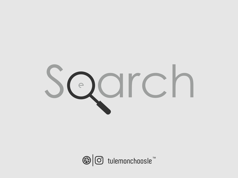 Search Wordmark Logo