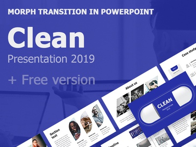 Clean Presentation 2019 + Free version animation vector logo slide maps icons design clean box any colors popular infographics illustration business best template presentation keynote powerpoint